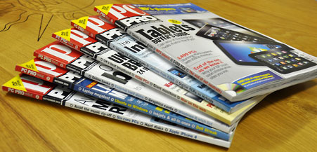 PCPRo magazine stack