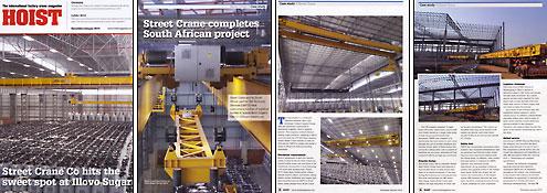 Hoist Magazine Street Crane feature