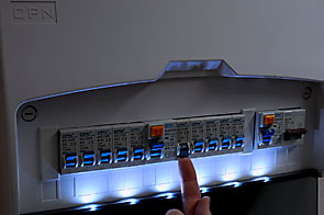 CPN-Cudis illuminated consumer unit