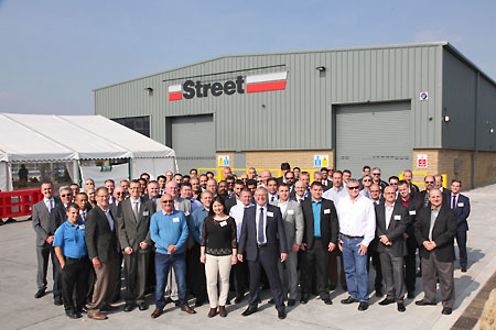 Street Crane new factory.